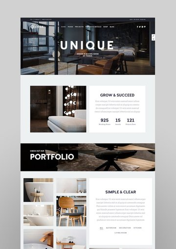 Coca - Interior Design and ArchitectureWordPress