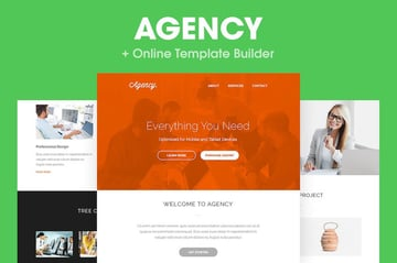 Agency - Responsive Email Template