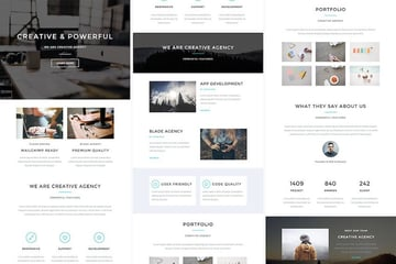 Blade - Responsive Email  StampReady Builder