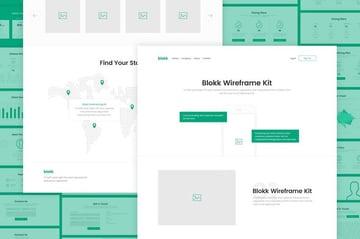 Blokk Wireframe Kit