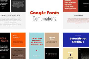 Google Fonts Combinations