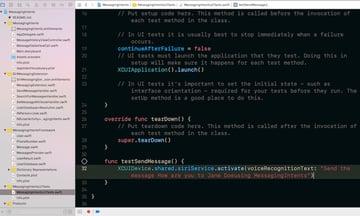 Testing SiriKit with Xcode and Simulator