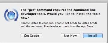 gcc command prompt
