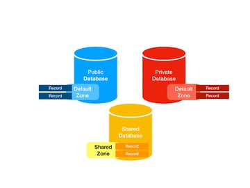 diagram of public private and shared databases