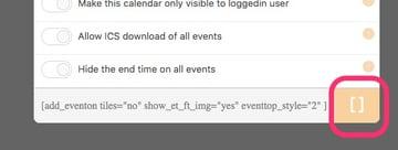 Add Shortcode Wordpress Calendar Plugin