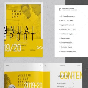 Egotype Annual Report