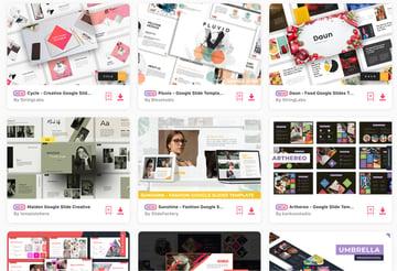 New Simple Google Slide Theme Templates