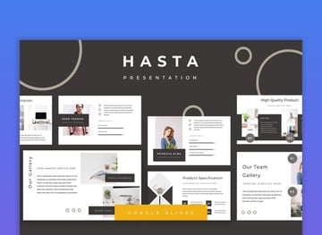 Hasta Minimalist Google Slides Presentation