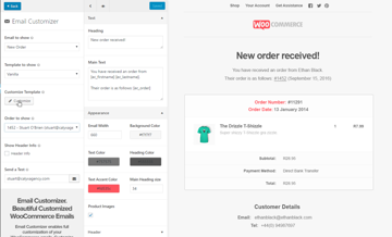 Email Customizer for WooCommerce Customize Email Template