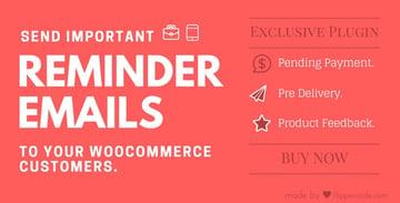 WooCommerce Reminder Emails for WordPress