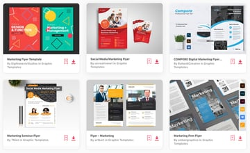 Best Selling Marketing Flyer Design Templates On Envato Elements