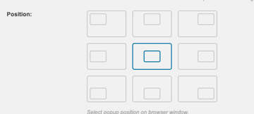 Layered Popups Position of Popup