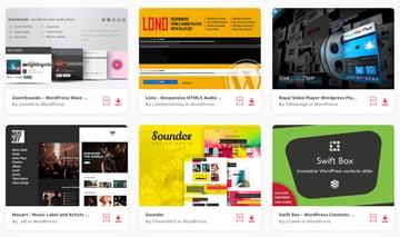 Best-Selling HTML5 Audio Player WordPress Plugins on Envato Elements