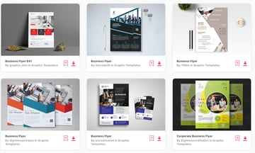 Best-Selling Business Flyer Templates On Envato Elements