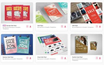 Best-Selling Sale Flyer Templates on Envato Elements