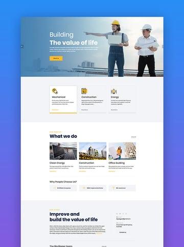 Bigger - Construction WordPress Theme