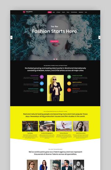 Talents - Model Agency