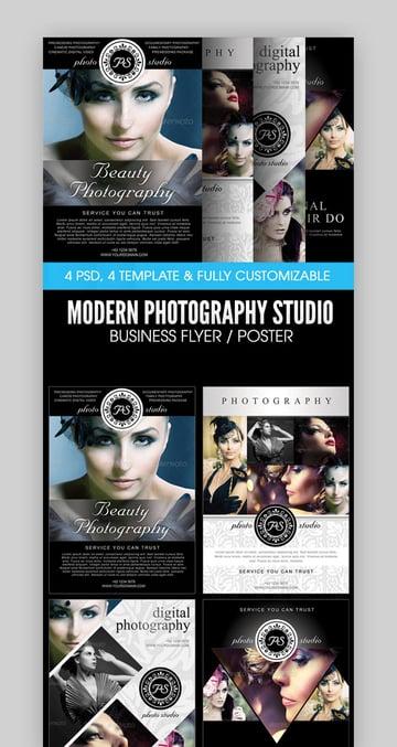 Modern Photography Studio Flyer