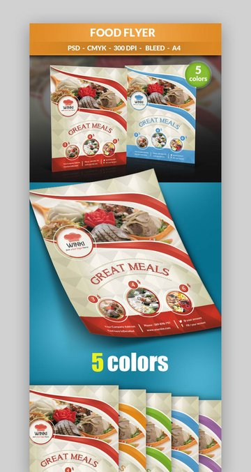Modern Food Flyer