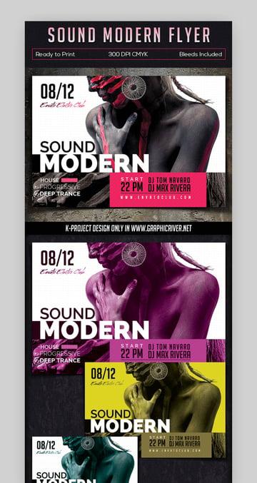 Sound Modern Flyer