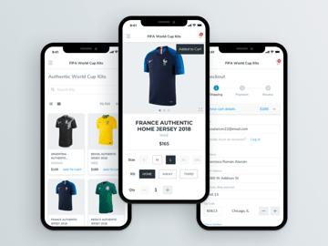 E-Commerce UI Kit Sketch Resource