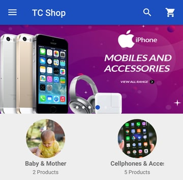 Android Woocommerce