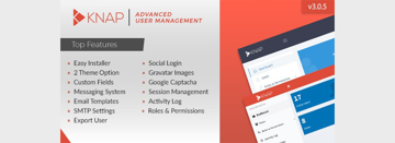 Knap - Advanced PHP Login and User Management