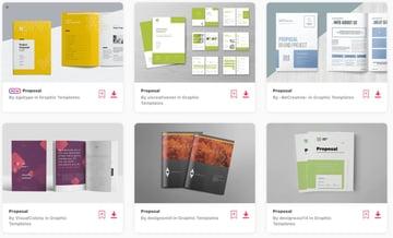 Best Selling Website Design Development Proposal Templates on Envato Elements