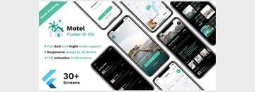 Hotel booking Flutter UI kit