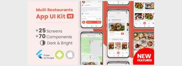 Food Delivery Flutter App UI Kit