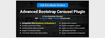 Advanced Bootstrap Carousel Plugin