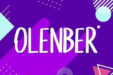 Olenber Font