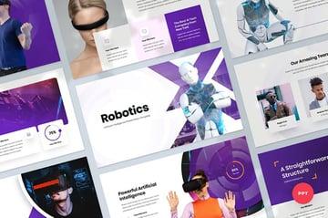 Artificial Intelligence  Tech Powerpoint Template