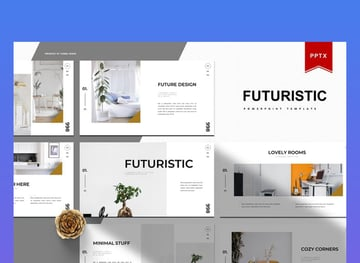 Futuristic Future PPT Template
