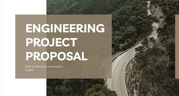 Engineering Project Proposal Presentation