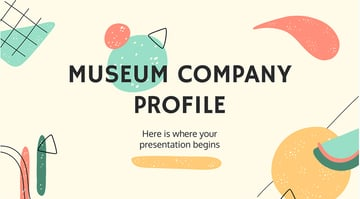 Museum Company Profile Presentation