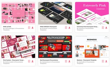 Best Selling Pink and Red PowerPoint Templates on Envato ElementsBest Selling Pink and Red PowerPoint Templates on Envato Elements