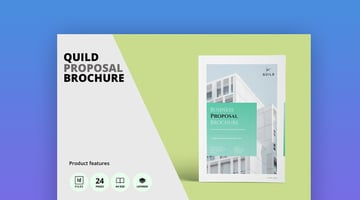 Architecture A4 Proposal Brochure Template