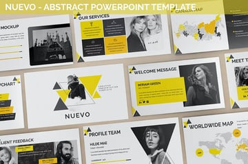 Nuevo - Abstract Powerpoint Template