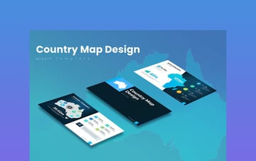 Country Map Template