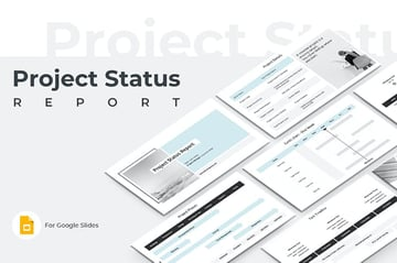 Project Status Report PowerPoint
