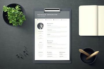 Resume Letter Word Office