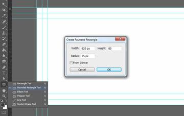 Create rounded rectangle shape