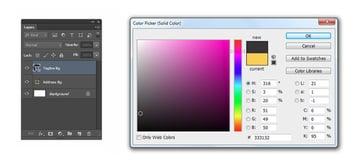 Set Tagline Bg color