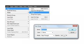 Create new separator group