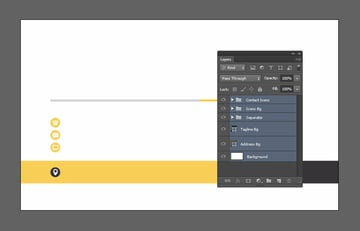 Select groups and layers
