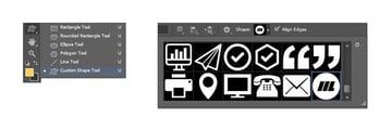 Select logo custom shape