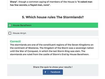 Wordpress Viral Quiz plugin