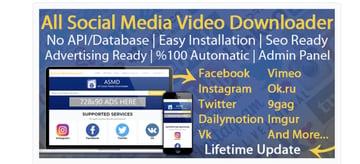 All social media video downloader