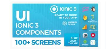 Ionic 3 UI theme